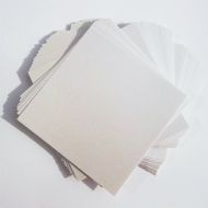 Pearl White Card. 250gsm. Wedding Bridal Invites RSVP. Choose Qty & Size